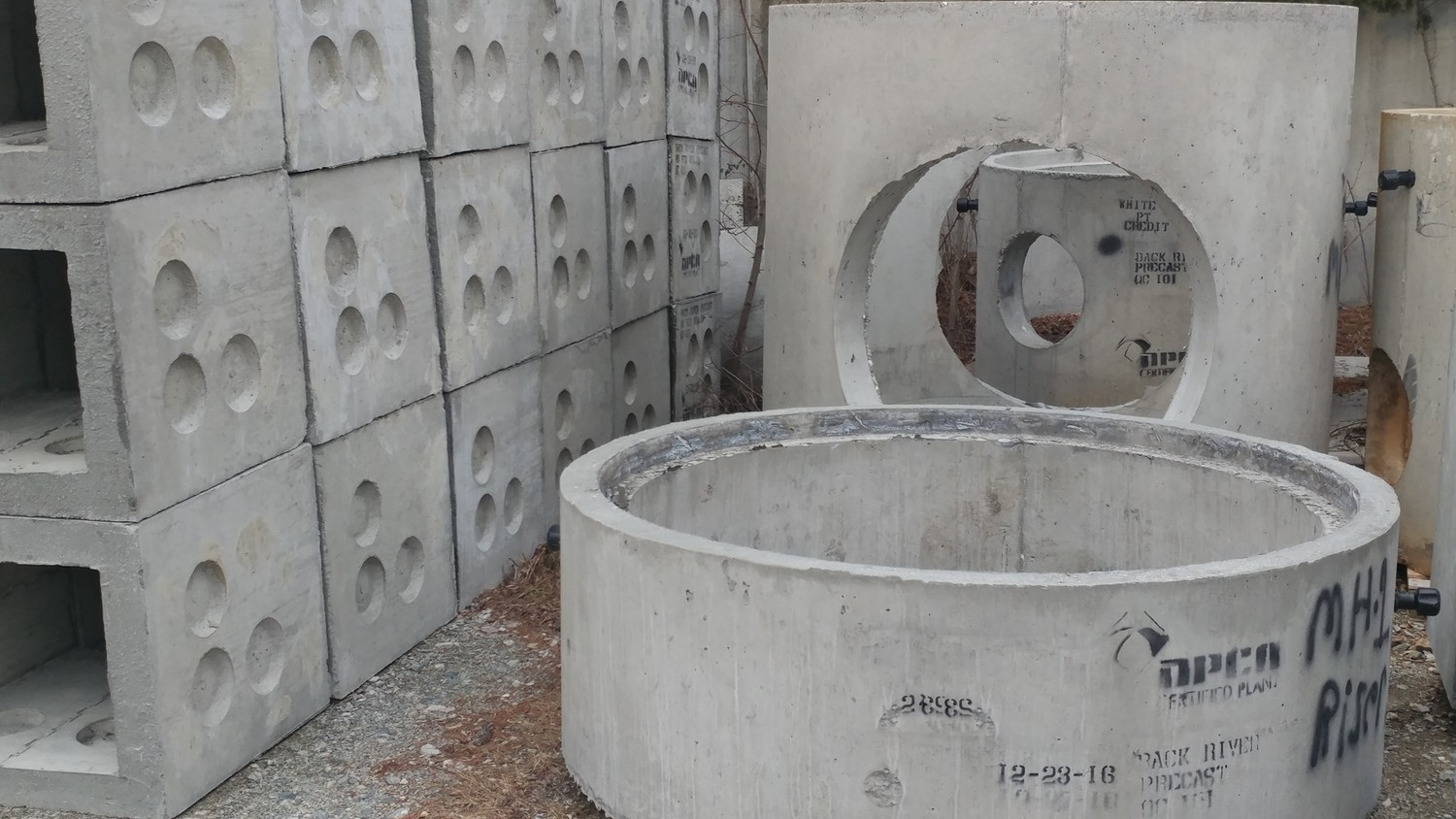 Manholes, Inlets, End Walls Catch Basins,